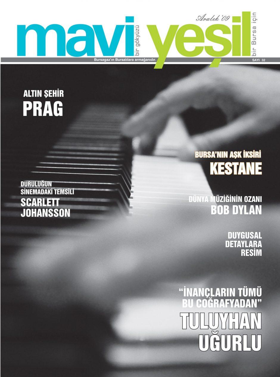 Mavi Yeşil Dergisi kapak